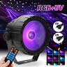30W RGB+UV COB LED RGB Stage Lighting DMX Remote DJ Bar Disco KTV Party  L D