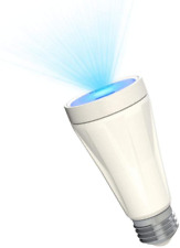 BlissLights BlissBulb Laser Star Projector Bulb - Decorative Galaxy Light for Pa