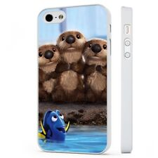 Disney Finding Dory Cute Otters WHITE PHONE CASE COVER fits iPHONE