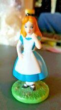 """Grolier Disney Sri Lanka Ceramic Alice in Wonderland 3.25"""" Figurine"""