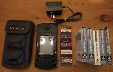 Atari Lynx (late model) w/ 10 Games + Accessories -- USED, BUNDLE