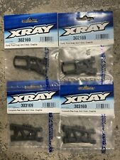 Set Of 4 Xray T4 Graphite 1-Hole Front & Rear Suspsension Arm 303169 302169