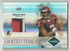 2004 LEAF LIMITED THREADS MICHAEL VICK 3 COLOR PATCH 11/25!!