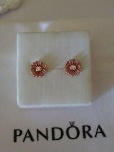 Authentic Pandora Rose Daisy earrings