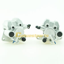 Front Brake Caliper Set For YAMAHA GRIZZLY 600 YFM600F 1998-2002 WITH PADS