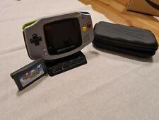 Nintendo Gameboy Advance IPS v2 Mod + Game / Hardcase / Stand inklusive
