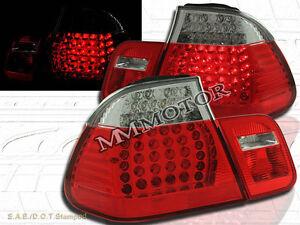 02-05 BMW E46 330 328 325 TAIL LIGHTS LED R/C 4DR 03 04