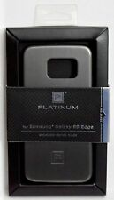 NEW Platinum Galaxy S6 Edge BRUSHED METAL Phone Case Gunmetal Gray PT-MGS6EM2A