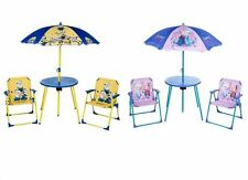 Disney Plastic Tables & Chairs for Children
