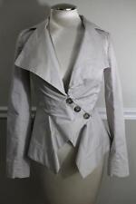 Vivienne Westwood Anglomania  Beige Asymmetrical Blazer Jacket Size 40 (Ja200