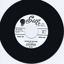 JACKIE BRENSTON-Trouble Up The Road-tu & Sought After Blues Bopper