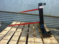 Bale Spike, New, Tractor Mounted with 3 point linkage