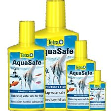 TETRA AQUASAFE Aquarium water neutralizer Water tap conditioner