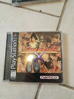 Complete Playstation PS1 SoulBlade Soul Blade w/ case, instructions registration