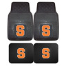 Syracuse University 2pc & 4pc Mat Sets-Heavy Duty-Cars,Trucks,SUVs