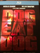 Dog Eat Dog (Blu-ray) Nicolas Cage Willem Dafoe NEW With Slipcover
