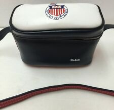Vintage Kodak Dark Blue/White/Red 1972 Olympic Games Camera Bag