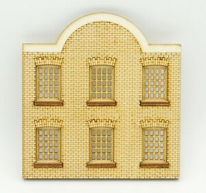 WH006 Ultra Low Relief Warehouse Window Frontage OO Gauge Laser Cut Kit