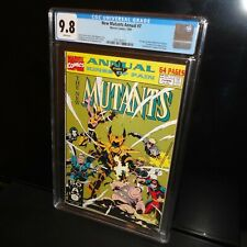 The New Mutants Annual #7 CGC 9.8 NM/MT White Pages, Mike Mignola  Last Issue!