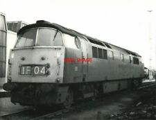 PHOTO  CLASS 52 WESTERN DIESEL  NO  D1008 WESTERN HARRIER IN MAROON LIVERY WITH