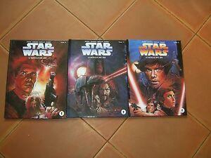 STAR WARS la bataille des jedi   tome 1 .tome 2 tome 3  Ed. Dark Horse.   3 bd