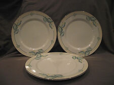 Set of 3 Lenox Dancing Lilies (Causal Images) Dinner Plates