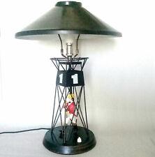 LAMPE Bouée JOHNNY WALKER vers 1960