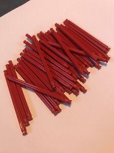 K'Nex - KNex - Spares - Micro KNex 63mm Rods X38 Red #509532