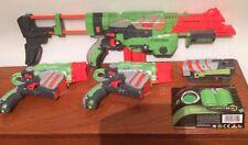 NERF Vortex Pistolet Bundle plus de nouvelles puces