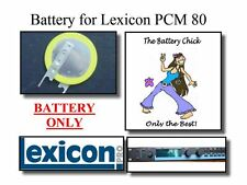 Battery for Lexicon PCM 80 - Internal Backup Memory Replacement Battery