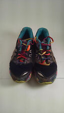 ASICS Gel-Noosa Tri 8 Rainbow/Multi-Color Running Shoes Women's Size 4 -Preowned