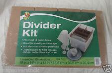 MOVING & STORAGE CARDBOARD DIVIDER KIT, FITS 18 GALLON PLASTIC TOTES, BOXES,ETC.