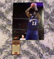 Michael Jordan Chicago Bulls/Wizards Signed Auto 8x10  Photo with COA
