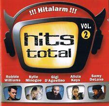 "HITS TOTAL "" !!! Hitalarm !!!""  Vol.2 2CD-Box BMG 2001 NEU & OVP 40 Tracks"