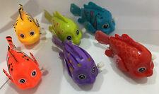 LARGE CLOCKWORK CLOWN FISH - 3936 WIND UP CLOCK WORK NEMO SWIMMING KIDS FUN TOY