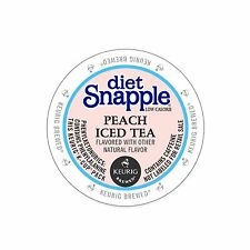 Snapple Diet Peach Iced Tea Keurig K-Cups 22-Count