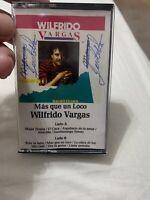 Wilfrido Vargas  Mas Que Un Loco Cassette