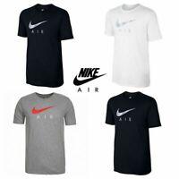 Nike Mens T Shirt Tri-Blend Hybrid Air Logo Cotton Tee Short Sleeve Top S M L XL