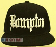 DELUXE COMPTON BOMPTON CITY LA CA EAZY E DR DRE ICE CUBE NWA SNAPBACK CAP HAT OS