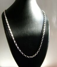 925 Silver 22Inch long  Belcher 4x2.5mm Necklace chain 4.8 Grams