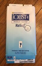 Large Jobst Medical Legwear Moderate Compression Thigh High Stockings
