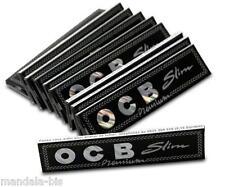 Carnet OCB SLIM Premium - Lot de 10 Carnets de 32 Feuilles (OCB Noir)
