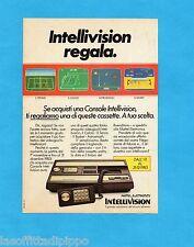 TOP983-PUBBLICITA'/ADVERTISING-1983- INTELLIVISION