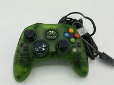 Original Xbox Controller Wired Halo Green S-Type Genuine Official OEM