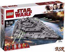 LEGO® Star Wars™: 75190 First Order Star Destroyer™ & 0.-€ Versand & NEU & OVP !