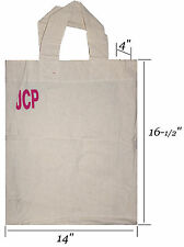69x Reusable Grocery Bag Shopping Canvas Tote Durable Fabric Wholesale Bulk