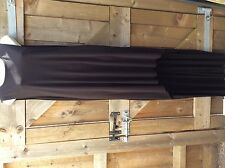TALL BLACK LONG BACK SHORT FRONT SLEEVELESS UNFINISHED DIP HEM MAXI DRESS.10 UK
