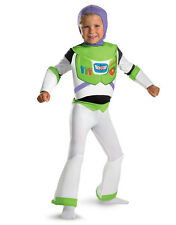 """Buzz Lightyear Dlx Kids Costume,Small, Age 4 - 6 years, HEIGHT 4' 0"""" - 4' 1 1/2"""""""