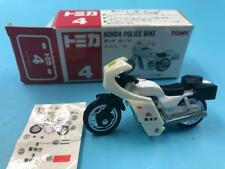 TOMY #04 HONDA POLICE BIKE 1:34 mint in box made in China