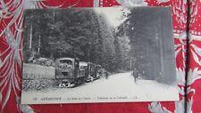 cpa 88 gerardmer tramway train la schlucht